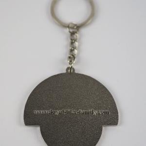 Lion Keychain silver