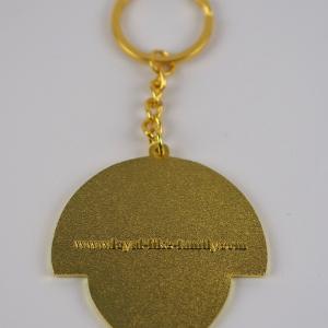 Lion Keychain gold