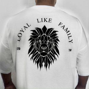 Lion Tee White