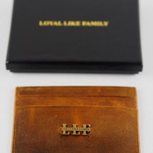 LLF Cardholder Paris brown